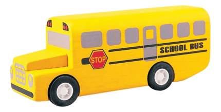 Городской транспорт PlanToys Город Школьный автобус