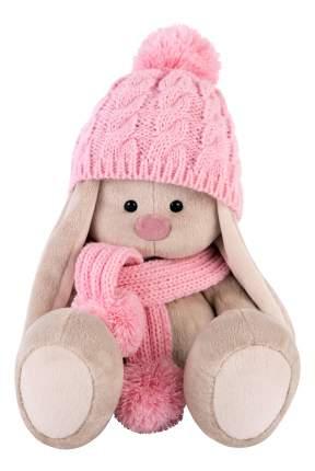 Мягкая игрушка BUDI BASA Зайка Ми в Розовой Шапочке и Шарфе Малая Sids-203