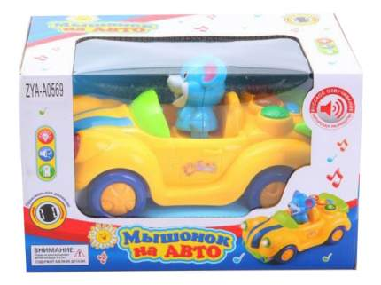 Развивающая игрушка Zhorya Мышонок на машине