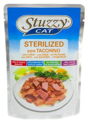 Влажный корм для кошек Stuzzy Cat, индейка, 24шт, 100г