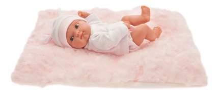 Пупс Antonio Juan Пепита на розовом одеялке 21 см