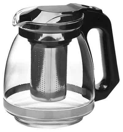 Заварочный чайник Mayer&Boch 27672 Прозрачный, черный, серебристый