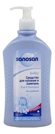 Средство для купания + шампунь для младенцев (с дозатором) - 400 мл