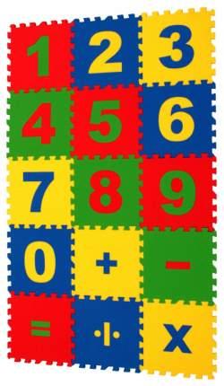 Мягкий коврик-пазл Eco cover Математика