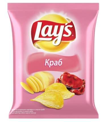 Картофельные чипсы Lay's краб 80 г