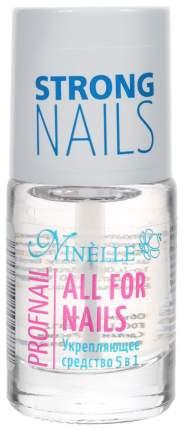 Средство для ухода за ногтями Ninelle All For Nails Profnail 5 в 1, 11 мл