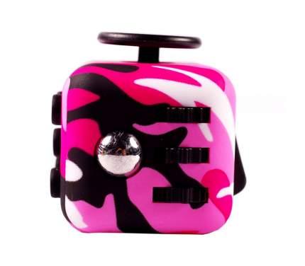 Игрушка-антистресс Fidget Cube Фиджет куб, камуфляж и розовый