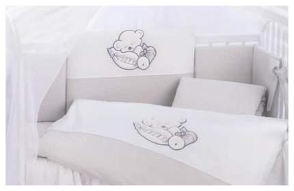 Комплект детского постельного белья Lepre Fantasia 6 предметов цвет 34 крем/полоска