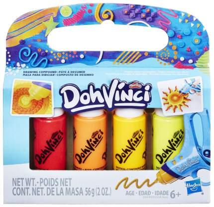 Набор для рисования Play-Doh DohVinci Катриджи 4 шт E0338EU4