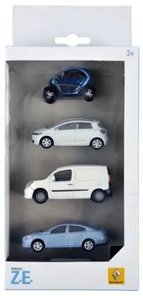Набор моделей Renault 7711431013 Box Of 4 Electric Cars