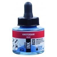 Акриловые чернила Royal Talens Amsterdam №562 серо-голубой 30 мл