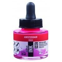 Акриловые чернила Royal Talens Amsterdam №384 розовый отражающий 30 мл