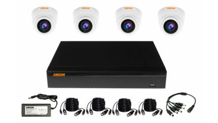 Система видеонаблюдения CARCAM ВИДЕОКИТ 5M-4