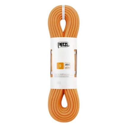 Веревка динамическая Petzl Volta Guide 9 мм, оранжевая, 60 м