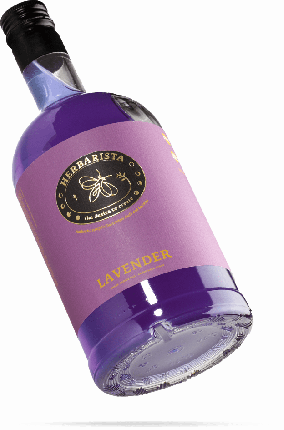 Сироп для кофе и коктейлей Herbarista Lavender лаванда 700 мл