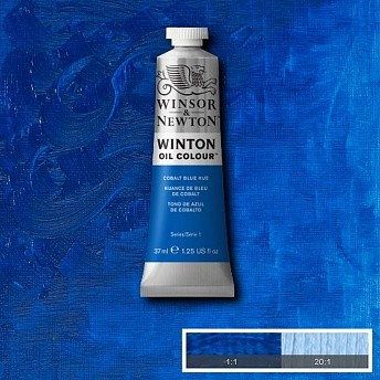 Масляная краска Winsor&Newton Winton синий кобальт 37 мл