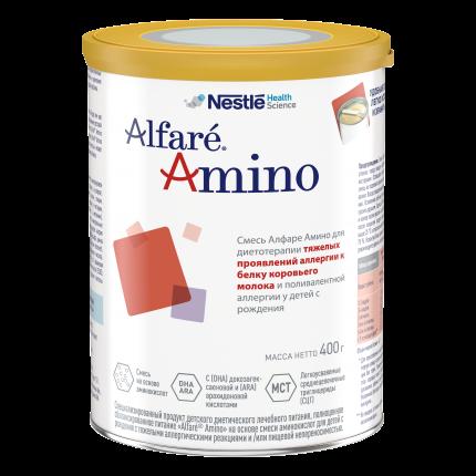 Молочная смесь гипоаллергенная Alfare Amino 400 г