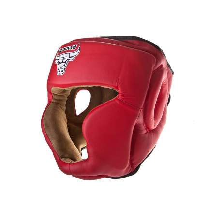 Шлем боксерский RHG-140 PL красный, размер M