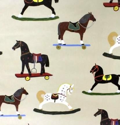 """Упаковочная бумага """"Лошадки"""""""