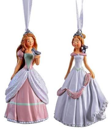 Елочная игрушка Kaemingk Принцесса 534164 9,5 см 1 шт. цвет в ассортименте