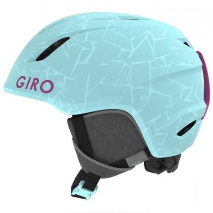 Горнолыжный шлем детский Giro Launch 2019, голубой, S
