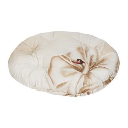 Лежак для собак и кошек Xody Овальный Эконом №5, цвета в ассортименте, 80х70 см