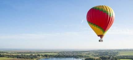 """Индивидуальный полет на воздушном шаре для двоих """"Экстрим + Сердце/Подарок"""" - FurPur"""