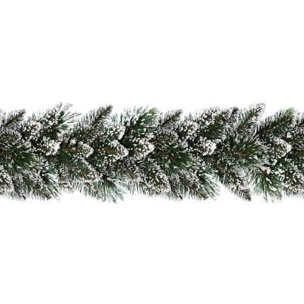 Kaemingk Хвойная гирлянда Финлей заснеженная 270*25 см, ЛЕСКА + ПВХ 9688479