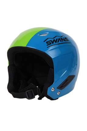 Горнолыжный шлем Swans HMR-70 2015 blue/lime, One Size