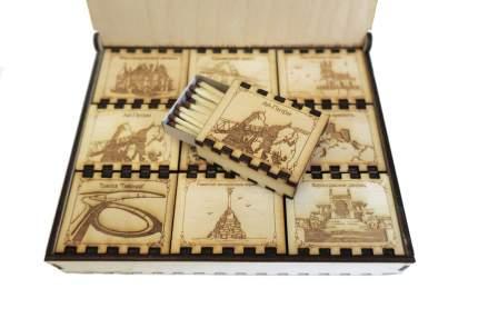 Спички сувенирные бытовые Красный Маяк 4 40 шт в упаковке