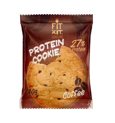 Fit Kit Protein Cookie 40 г Кофе