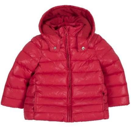 Куртка Chicco для девочек р.128 цв.красный