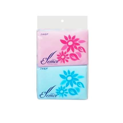 Двухслойные карманные салфетки Ellemoi Pocket Tissue с отверстием для крючка, 10*10шт