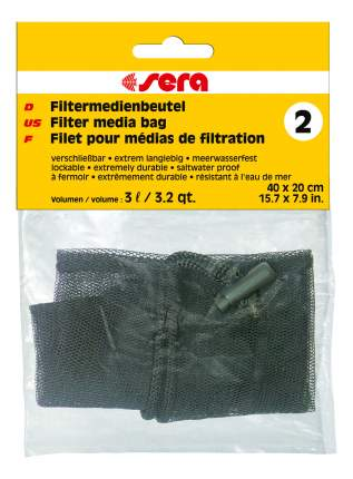 Мешок для фильтрующих материалов Sera №2 для фильтров, универсальный