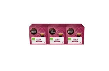 Кофе в капсулах Nescafe Dolce Gusto Эспрессо Перу 3 штуки по 12 капсул