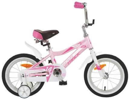 """Велосипед Novatrack """"Novara"""" (цвет: розовый, 14"""")"""