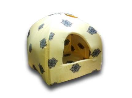 Домик для кошек Бобровый Дворик Вигвам большой, разноцветный, 42x42x38см