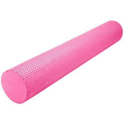 B31603-2 Ролик массажный для йоги розовый 90х15см.