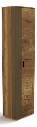 Платяной шкаф СБК SBK_50301 54х37х211, дуб галифакс табак