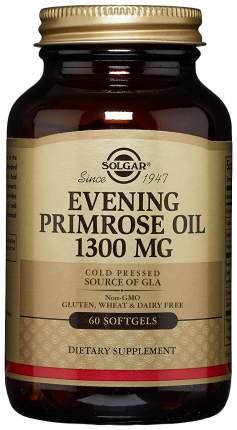 Evening Primrose Oil Solgar 1300 мг гелевые капсулы 60 шт.
