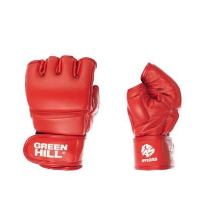 Green Hill Перчатки для боевого самбо Green Hill FIAS Approved (Лицензия FIAS) красные