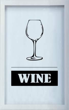Копилка для винных пробок Wine 29x45 см. Дубравия KD-022-118