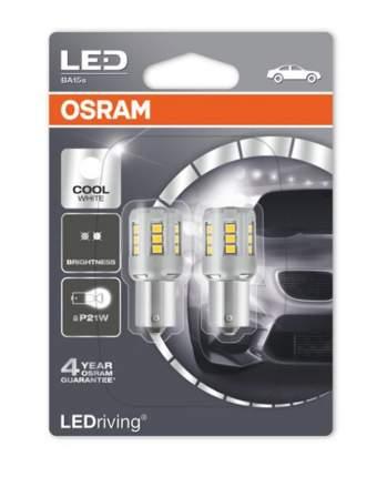 Лампа P21w 12v Ledriving Standard, 6000k , Двойной Блистер OSRAM арт. 7458CW-02B