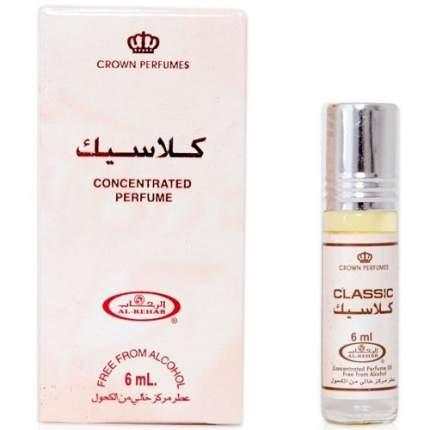 Масло парфюмерное Al Rehab Classic, 6 мл