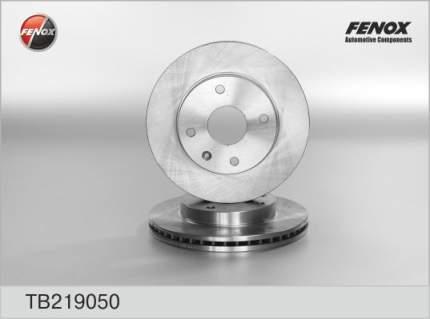 Тормозной диск FENOX TB219050