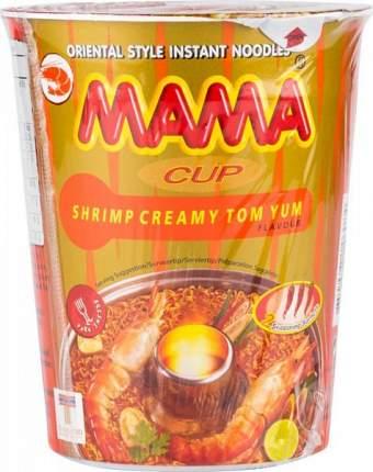 Лапша быстрого приготовления тайская Mama кремовый том ям 70 г