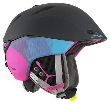 Горнолыжный шлем мужской Cebe Atmosphere Deluxe CBH144 2018, синий, S
