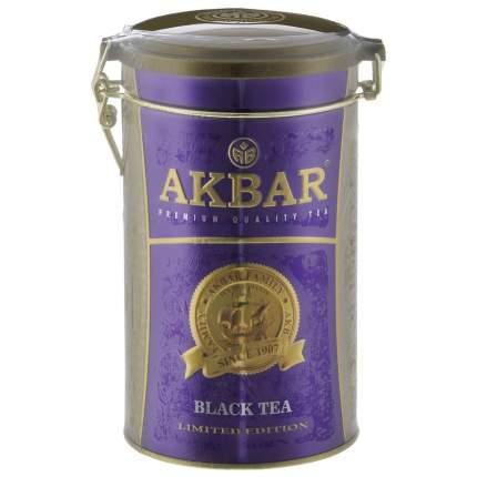 Чай черный Akbar байховый цейлонский крупнолистовой 300 г