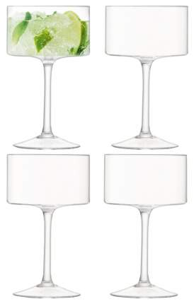 Набор бокалов LSA otis для шампанского, для коктейля 280 мл 4шт