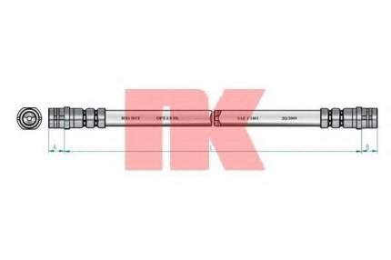 Тормозной шланг Nk 854766